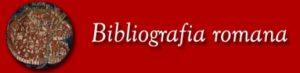 Logo Bibliografia Romana