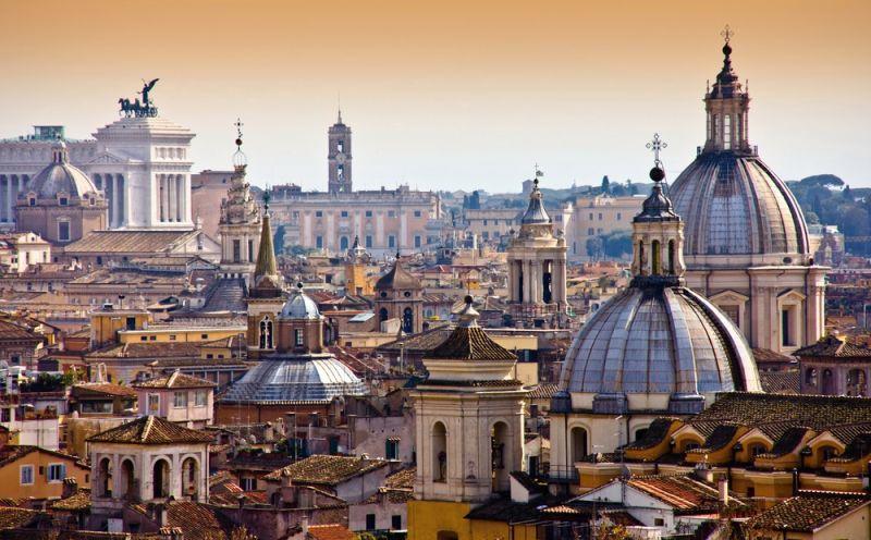 Rome De Stad
